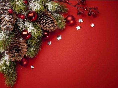 Een Gezellige Tafel Met Kerst Door Kunst Vriendschap Nieuws Uit